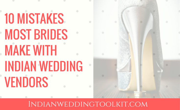 mistakes brides make when getting married abroad